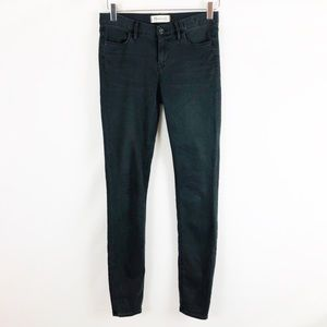 Madewell Light Faded Black Skinny Pants